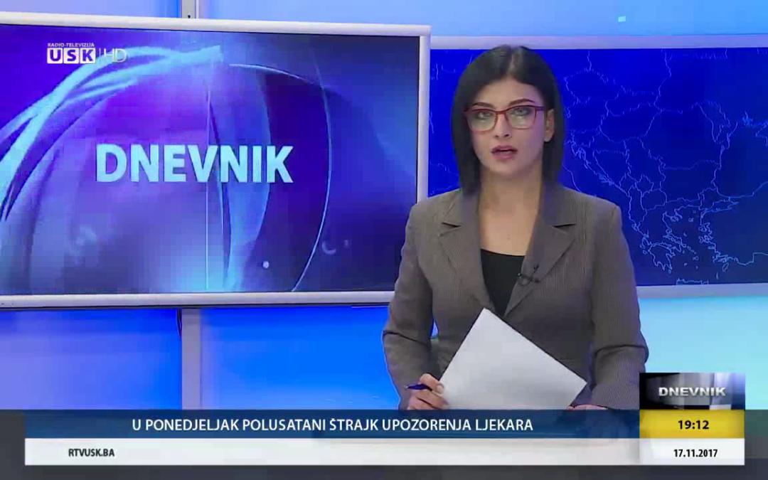 Feira de contratação de pessoal médico em Bihać