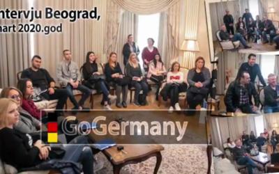 GoGermany – Sajam u Beogradu – Messe in Belgrad