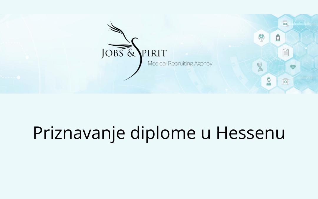 Priznavanje diplome u Hessenu
