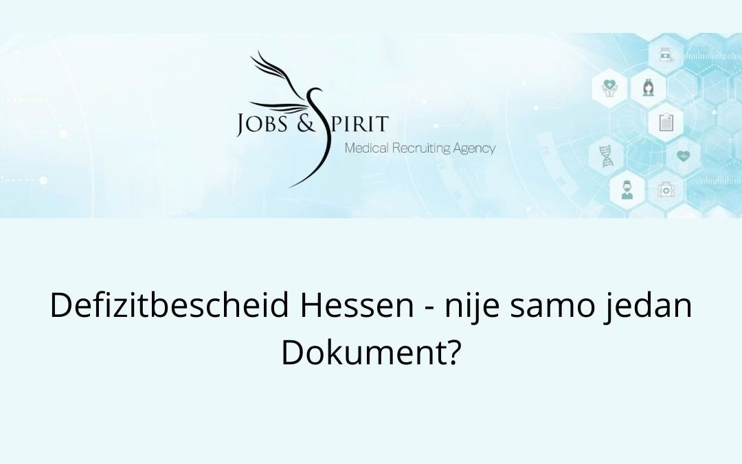 Defizitbescheid Hessen - nije samo jedan dokument?